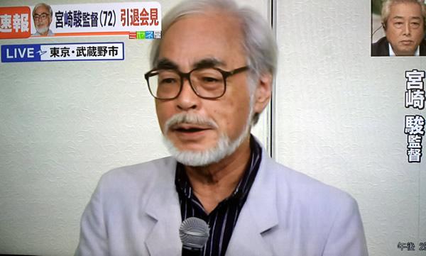 宮崎駿監督 引退会見